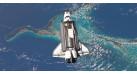 """Модель космического корабля Space Shuttle """"Atlantis"""" 1:200"""