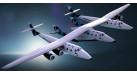 Модель самолета Virgin Galactic 1:400