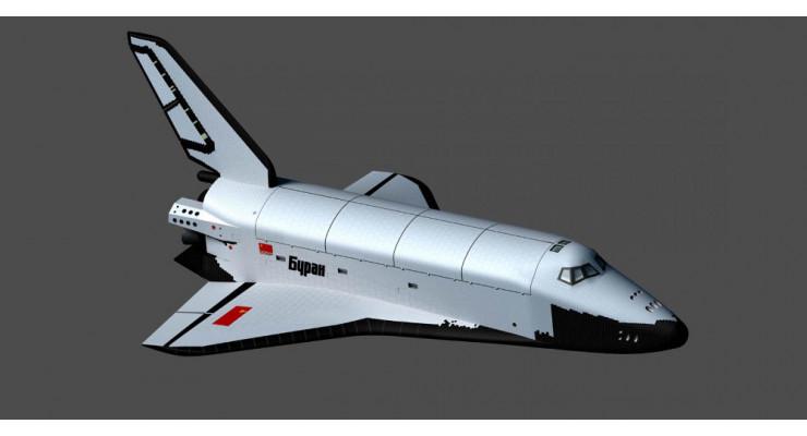 """Модель космического корабля """"Буран"""" 1:144"""