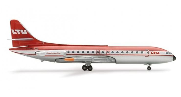 Модель самолета Aerospatiale Caravelle LTU International Airways 1:500 505321