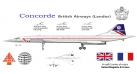 Модель самолета Concorde British Airways 1:200