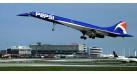 "Модель самолета Aerospatiale / British Aerospace Concorde Air France ""PEPSI"" 1:400"