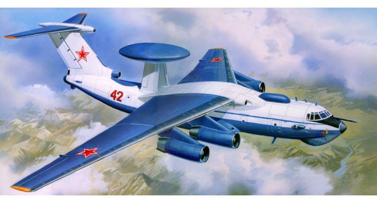 Модель самолета Бериев А-50M ВВС России 1:200