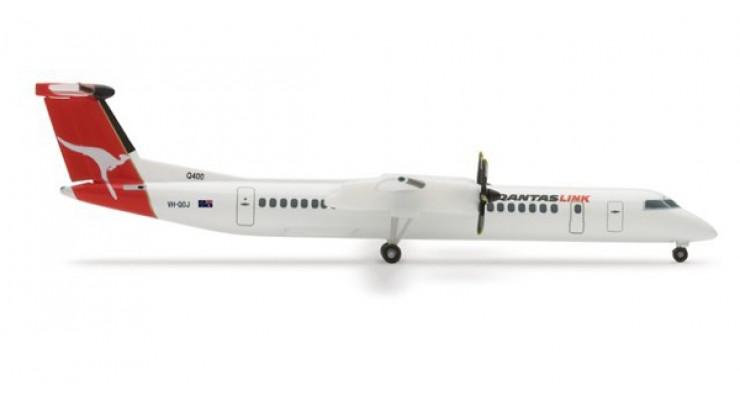 Модель самолета Bombardier Q400 QantasLink 1:500 509558