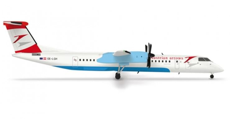 Модель самолета Bombardier Q400 Austrian Arrows 1:500 520720