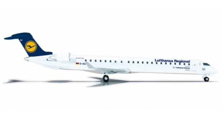 Модель самолета Bombardier CRJ900 Lufthansa Regional 1:500 524100