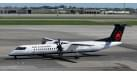 Модель самолета Bombardier Dash 8 Q400 Air Canada 1:200