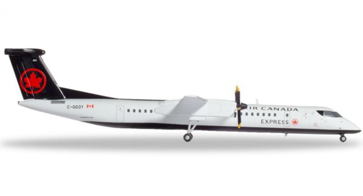 Модель самолета Bombardier Dash 8 Q400 Air Canada 1:400