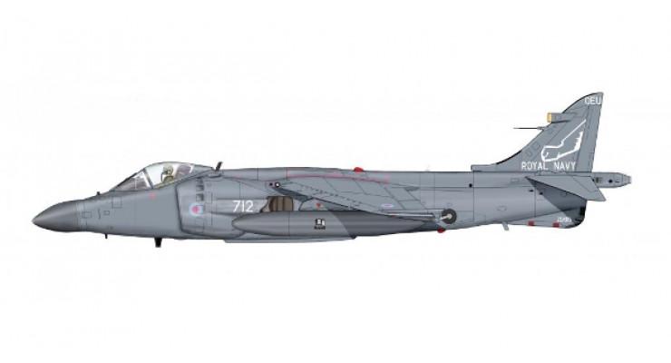 Модель самолета British Aerospace / Hawker Siddeley Sea Harrier FA.2 Royal Navy 1:72 HA4102