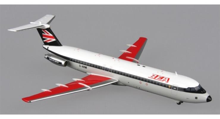 Модель самолета British Aircraft Corporation 1-11-510ED British European Airways 1:200