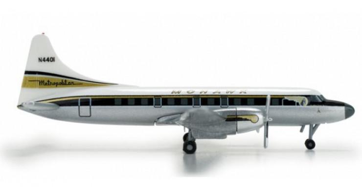 Модель самолета Convair CV-440 Mohawk Airlines 1:500 517829