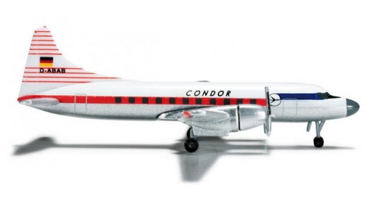 "Модель самолета Convair CV-440 ""Condor ""Condor Luftreederei Hamburg"" 1:500 523196"