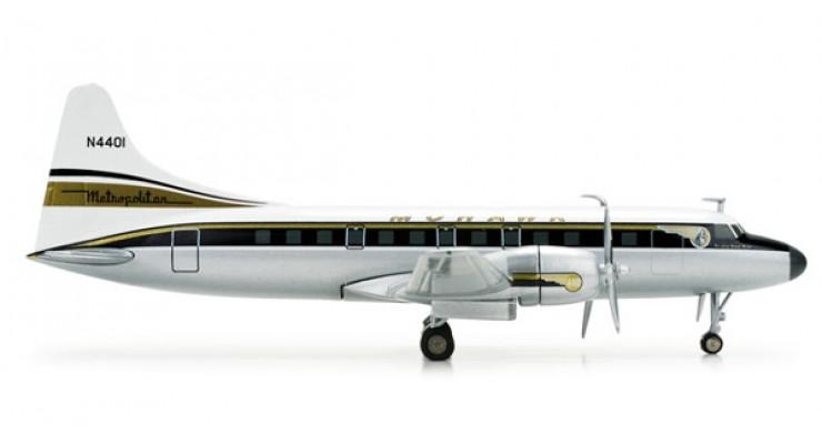 Модель самолета Convair CV-440 Mohawk Airlines 1:200