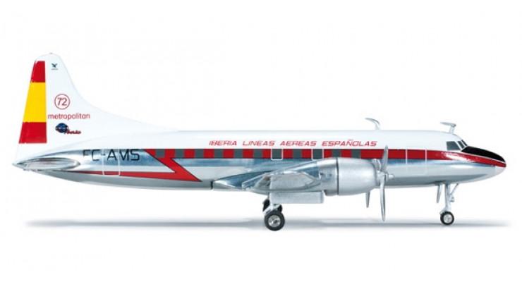 Модель самолета Convair CV-440 Iberia 1:200