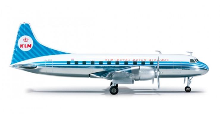 Модель самолета Convair CV-440 KLM Royal Dutch Airlines 1:200