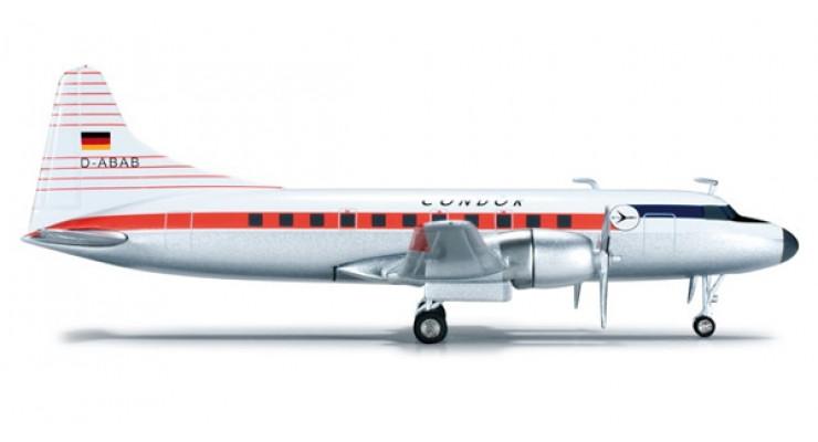 Модель самолета Convair CV-440 Condor 1:200