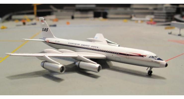 Модель самолета Convair CV-990 Scandinavian Airlines 1:400