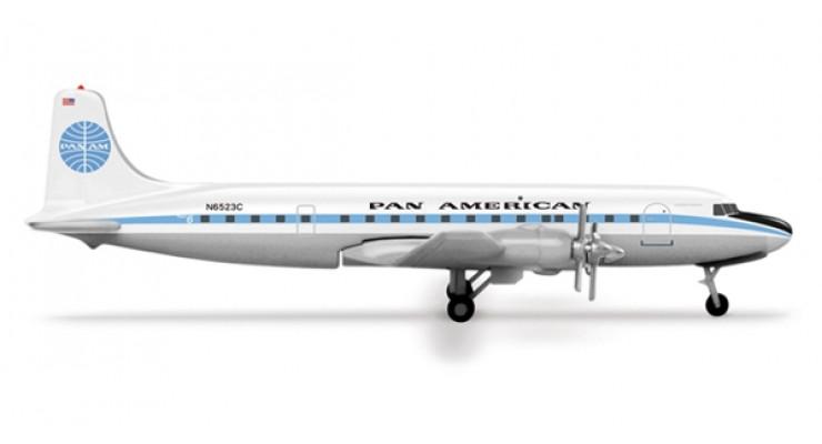 "Модель самолета Douglas DC-6B Pan American Airways ""Clipper Berlin"" 1:500 517379"