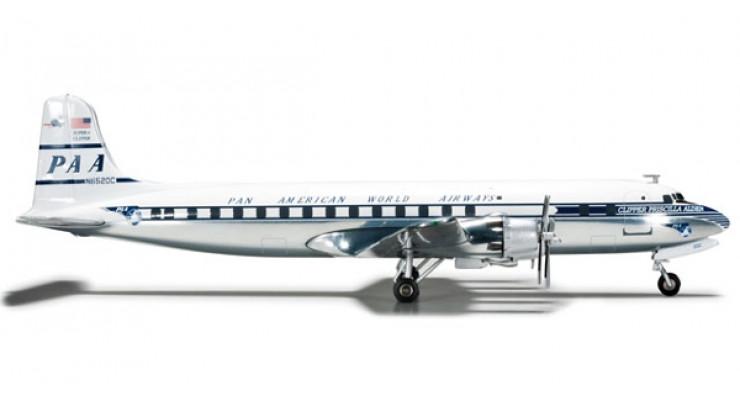 Модель самолета Douglas DC-6B Pan American World Airways 1:200