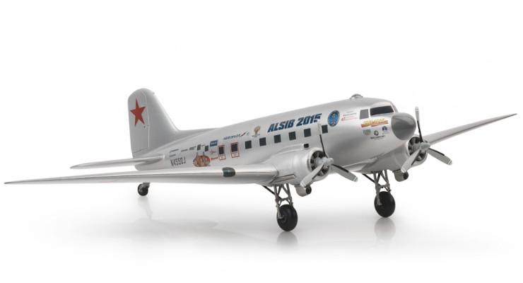 "Модель самолета Douglas C-47 (DC-3) ""АЛСИБ 2015"" 1:48"