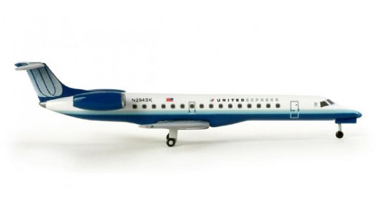 Модель самолета Embraer ERJ-145 United Express 1:500 505208