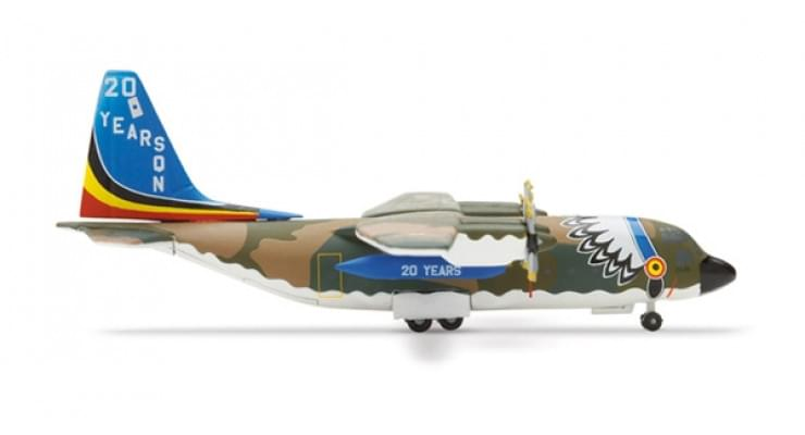 Модель самолета Lockheed C-130 Hercules Belgian Air Force 1:500 509497