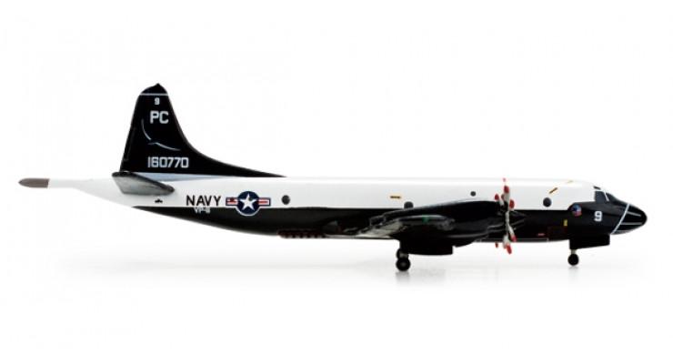 "Модель самолета Lockheed P-3C Orion US Navy Centennial of Naval Aviation ""Blue Sharks"" 1:500 520836"