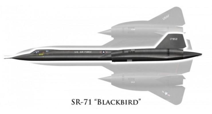 "Модель самолета Lockheed SR-71A Blackbird USAF ""Charlie's Problem"" 1:200"