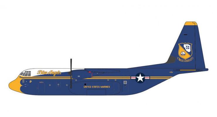 "Модель самолета Lockheed C-130J Super Hercules ""Blue Angels"" US Marines 1:400"
