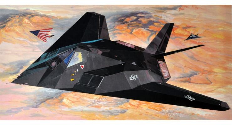 Модель самолета Lockheed F-117A Nighthawk 1:72