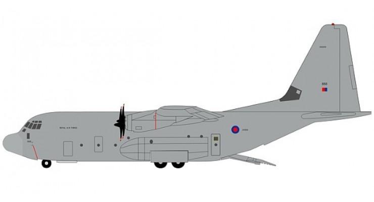 Модель самолета Lockheed C-130J Hercules Royal Air Force 1:200