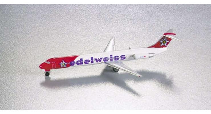 Модель самолета McDonnell Douglas MD-83 Edelweiss Air 1:500 507639
