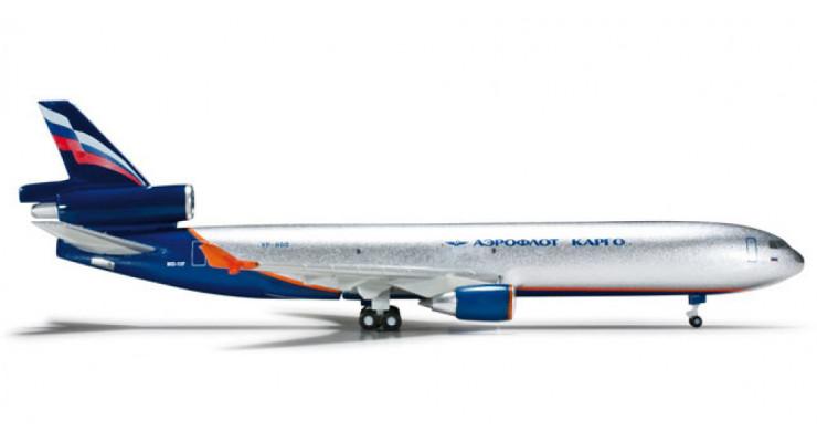 Модель самолета McDonnell Douglas MD-11F Аэрофлот Карго 1:500