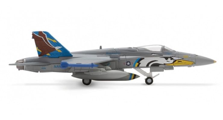 "Модель самолета McDonnell Douglas F/A-18C Hornet US Navy ""Marauders"" 1:200"