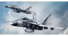 "Модель самолета McDonnell Douglas F/A-18A Hornet US Navy ""Fighting Omars"" 1:72"
