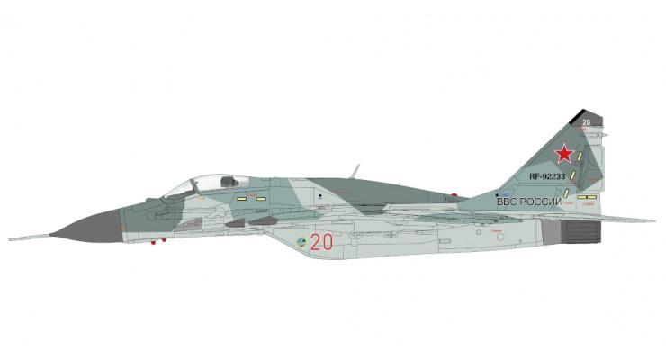 Модель самолета Микоян Гуревич Миг-29СМТ ВВС России 1:72