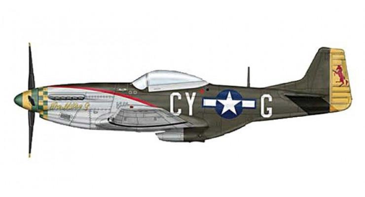 Модель самолета North American Aviation P-51D Mustang USAF 1:72