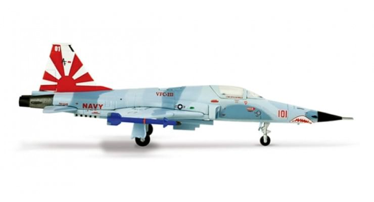 "Модель самолета Northrop F-5N Tiger II US Navy ""Sundowners"" 1:200 553193"