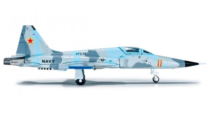 """Модель самолета Northrop F-5N Tiger II US Navy """"Saints"""" 1:200"""