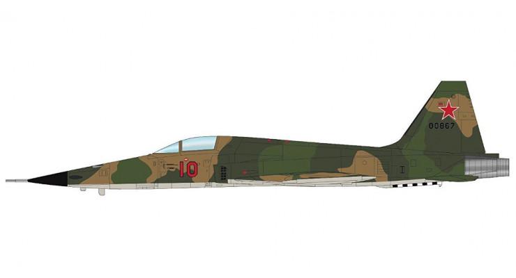 Модель самолета Northrop F-5E Tiger II ВВС СССР 1:72