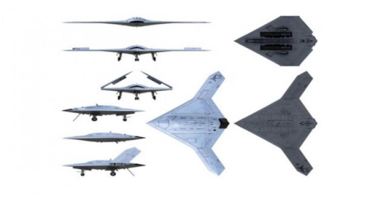 Модель самолета Northrop Grumman X-47B Pegasus USAF 1:72