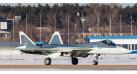 """Модель самолета Сухой Т-50 (Су-57) """"Белая акула"""" ВВС России 1:200"""