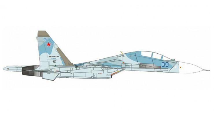 Модель самолета Сухой Су-30М2 ВВС России 1:72