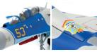 Модель самолета Сухой Су-27УБ ВВС Казахстана 1:72