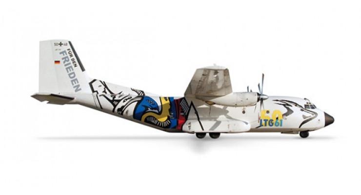 "Модель самолета Transport Allianz C-160 Transall Luftwaffe ""50 Jahre"" 1:500 509855"