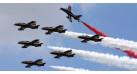 "Модель самолета Aermacchi MB-339 ""Al Fursan"" 1:72"