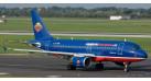 "Модель самолета Airbus A319 Hamburg International ""10 Jahre"" 1:500 502276"