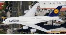 Модель самолета Airbus A380 Lufthansa 1:500