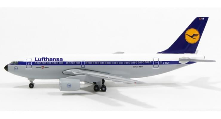 Модель самолета Airbus A310-200 Lufthansa 1:500 517812