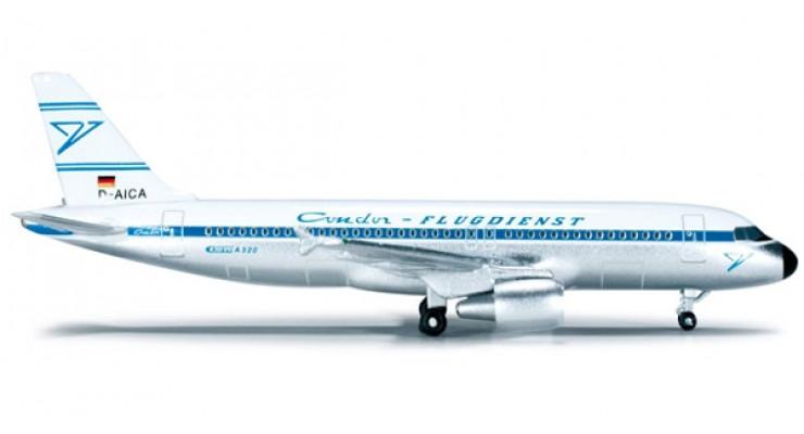 Модель самолета Airbus A320 Condor Retro 1:500 519311
